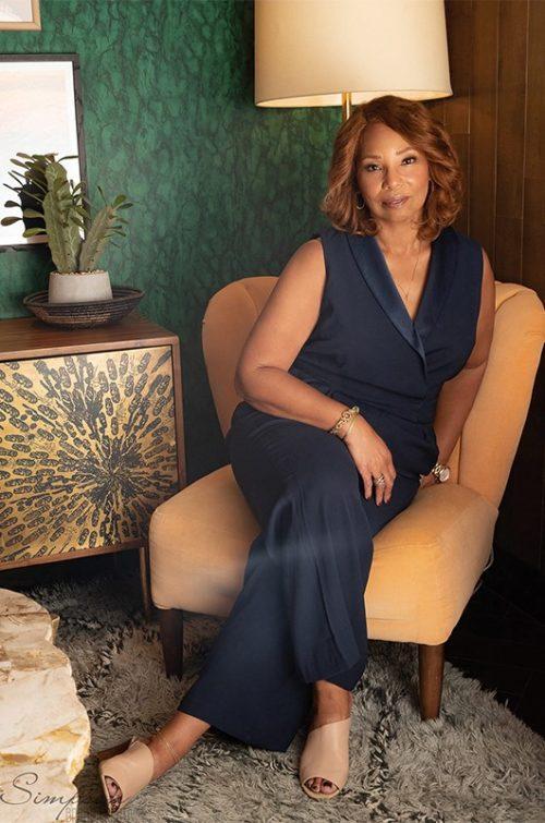 portrait of african american businesswoman